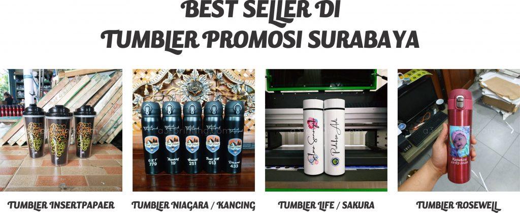 Custom tumbler promosi surabaya